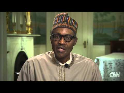 President Buhari's interview with CNN Christiane Amanpour