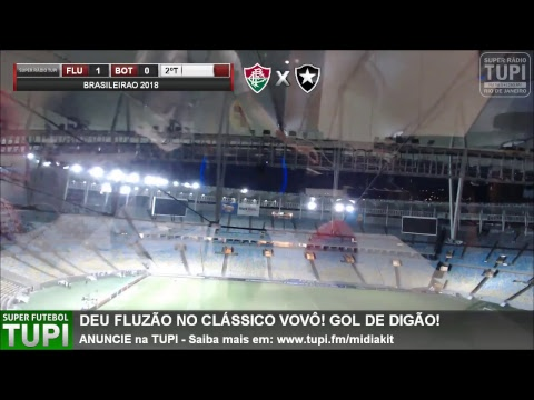 dcada64cfd Fluminense 1 x 0 Botafogo - 24ª RODADA - Brasileirão - 09 09 2018 ...