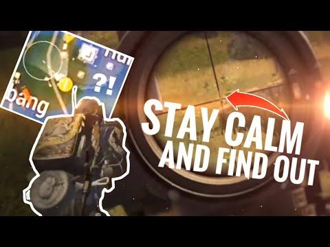 [PUBG MOBILE] Don't Panic, Focus. - Epic Reflex Gameplay