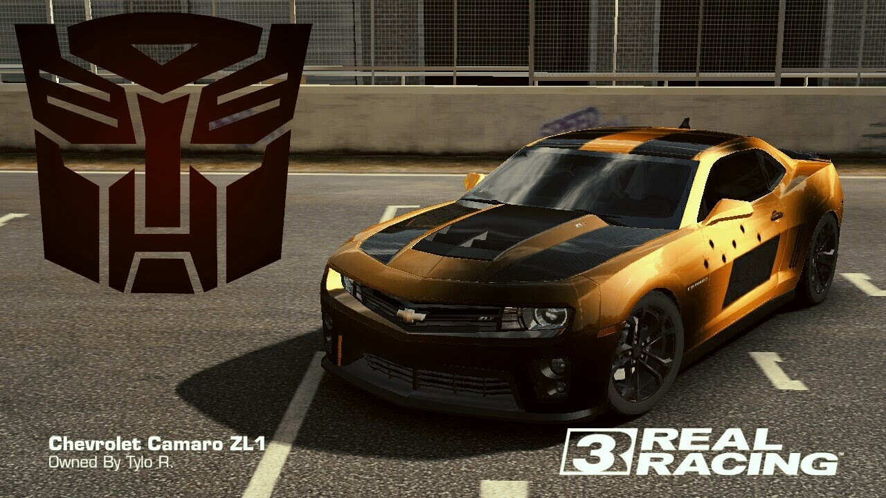Real racing 3 car customization bumblebee