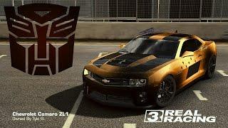 Real Racing 3 Car Customization: BUMBLEBEE