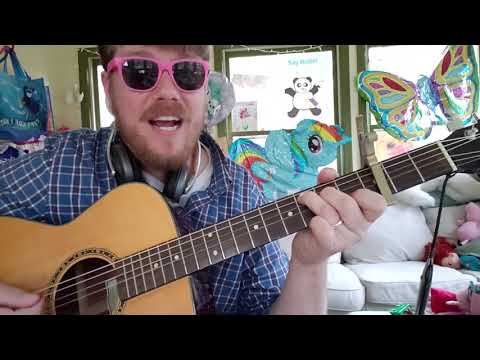 Imagine Dragons - Bad Liar // easy guitar tutorial for beginner