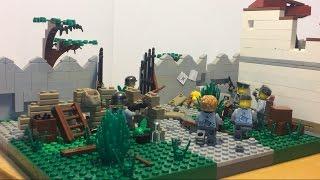 """Лего самоделка #29 на тему Вторая Мировая война """"оборона дома"""""""