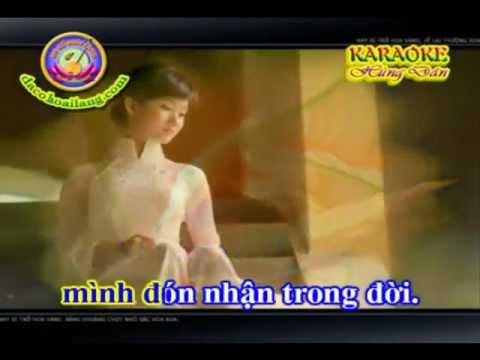 Karaoke MAU HOA BI (feat voi GMV).wmv