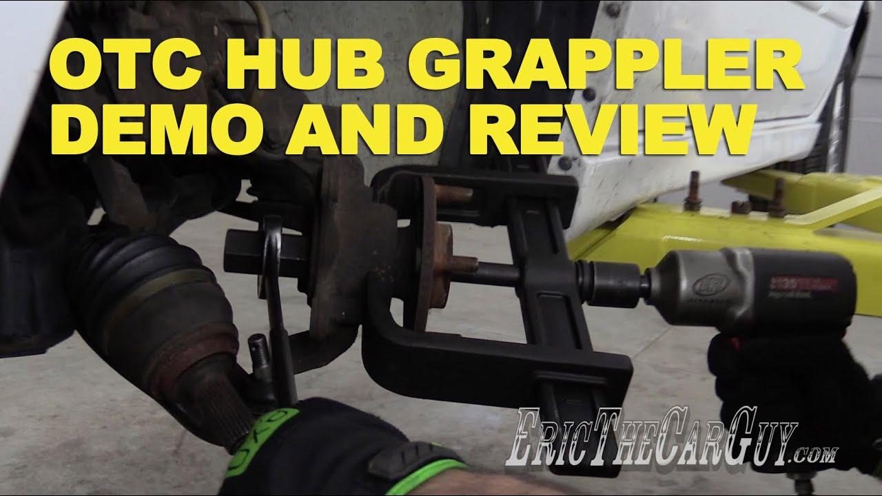 otc hub grappler demo and review ericthecarguy youtube rh youtube com Hub Grappler Manual Hydraulic Hub Grappler