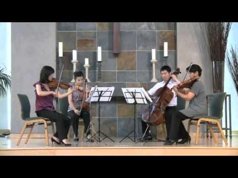 【Gaia String Quartet】 Samuel Barber - String Quartet in B minor, Op. 11