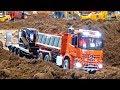 ScaleART MB Arocs I CAT Delta Trac loader I Mini Baustelle Alsfeld 2017