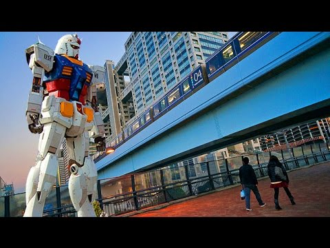 Japan Travel- A Day in Odaiba in Tokyo, Japan