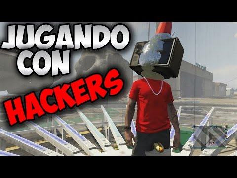 GTA V Online | Jugando Con HACKERS !!!