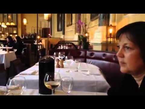Lunch at the Gilbert Scott restaurant
