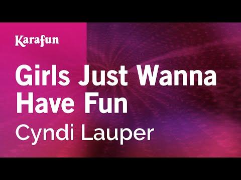 Karaoke Girls Just Wanna Have Fun - Cyndi Lauper *