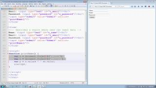 javascript accessing html form elements in Hindi