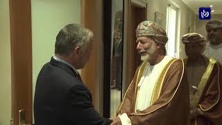 الملك عبدالله الثاني يبحث سبل إحياء السلام في المنطقة مع مسؤول عُماني
