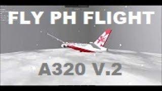 FLY PH FLIGHT A320 (v.2) (BUSINESS CLASS) | ROBLOX