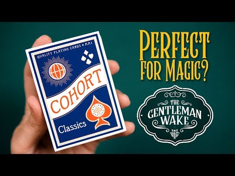 Cartamundi's NEW E7 Stock And Finish! Cohort Classics From Ellusionist Deck Review And GIVEAWAY!