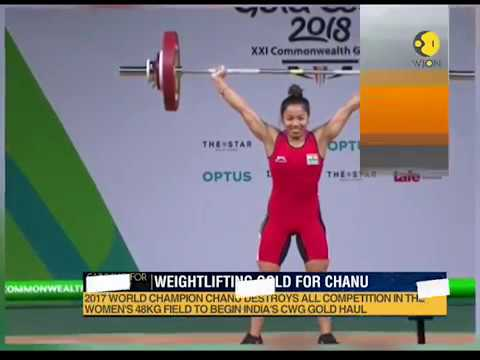 Saikhom Mirabai Chanu bags first gold medal for India at Commonwealth Games 2018