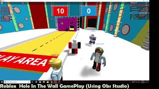 Hole In The Wall Gameplay (In Roblox)