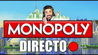 DIRECTO - MONOPOLY - SAURON CONTRA FRODO Y SUS AMIGOS! - Nexxuz