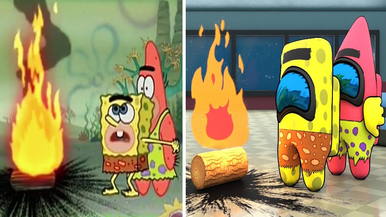 SpongeBob VS Among Us (part 6)