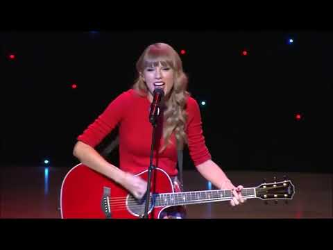 Taylor Swift   We Are Never Ever Getting Back Together Live from New York