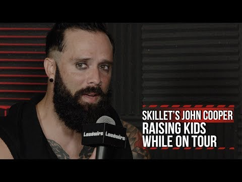 Skillet's John Cooper: Raising Kids on Tour Is Tough But Rewarding