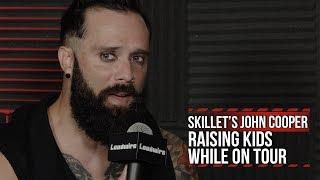 Skillet's John Cooper: Raising Kids on Tour Is Tough But Rewarding