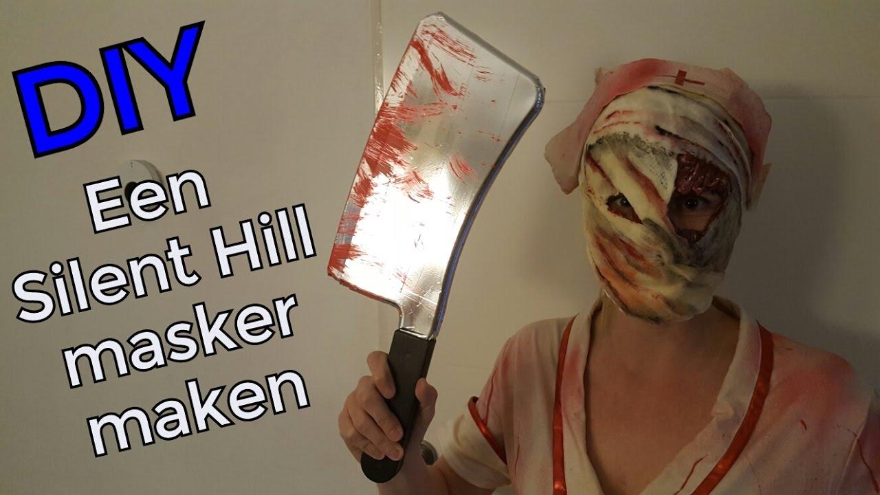 Halloween Masker Maken.Diy Een Silent Hill Masker Met Latex Maken Halloween
