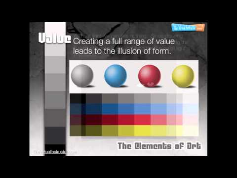 The Elements Of Art - Value