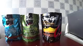 Кофе Jardin сравнение разных вкусов обзор, отзыв