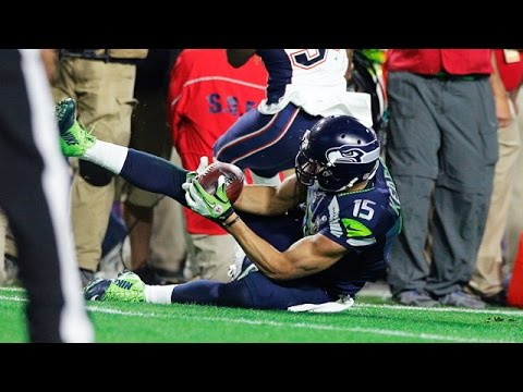 Jermaine Kearse makes one of the greatest Super Bowl catches of all time!