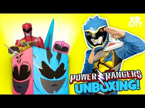Thumbnail: Power Rangers Movie 2017 Unboxing with Power Rangers Superheroes Surprise Toys | KIDCITY