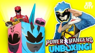 Power Rangers Movie 2017 Unboxing with Power Rangers Superheroes Surprise Toys | KIDCITY