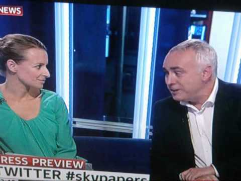 Sky  Paper  21st Aug. 2012 with Deborah Haynes of The Times and John Cooper QC