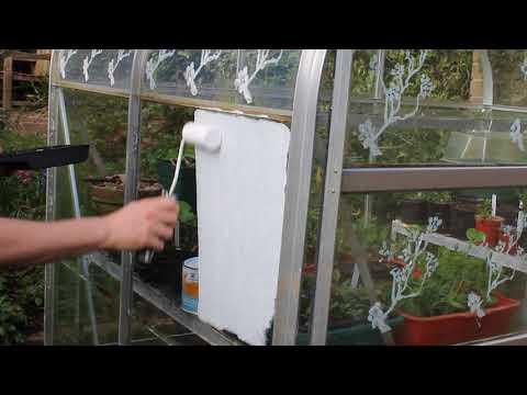 Applying Thorndown Peelable Glass Paint