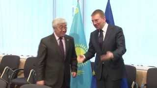 "03.03.15, Brussels, 14th meeting of the ""Kazakhstan - European Union"" Cooperation Council"