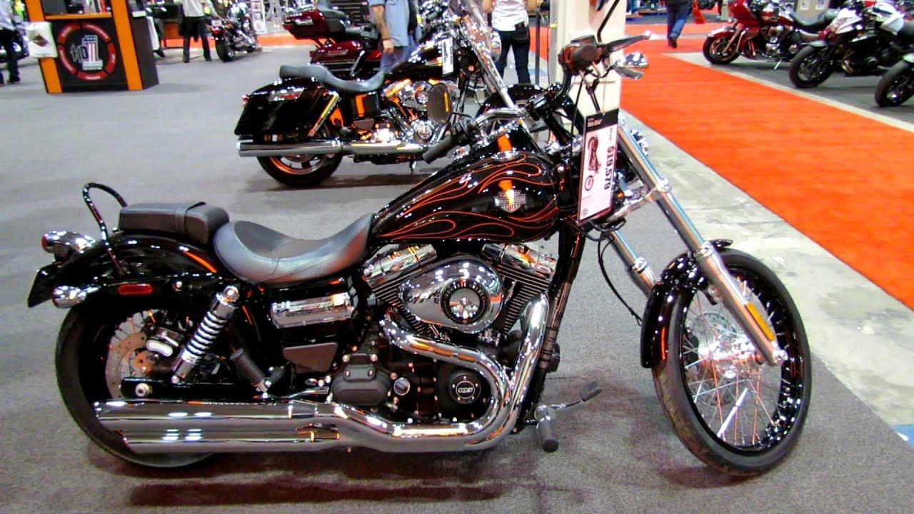 2014 Harley-Davidson Dyna Wide Glide Walkaround - 2014 Toronto ...