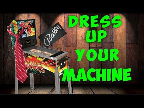 Arcade1up Pinball Upgrades from Jester Tester Arcade