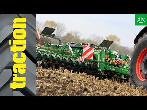 Great Plains X-Press 5.5m in der traction-Arbeitsprobe
