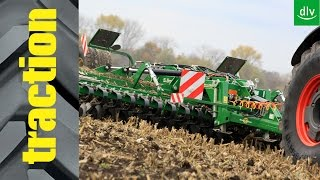 Great Plains X-Press 5.5m in der traction-Arbeitsprobe