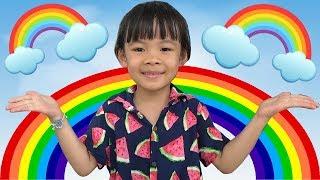 Trò Chơi Thông Minh – Bé Làm Thí Nghiệm Tạo 7 Sắc Cầu Vồng ❤ AnAn ToysReview TV ❤