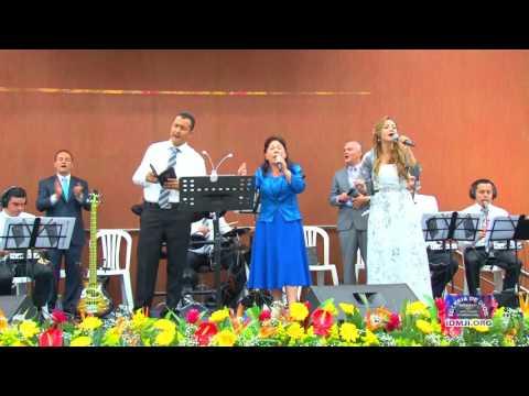 María Luisa Piraquive, Coro: Alabad bendecid a Jehová