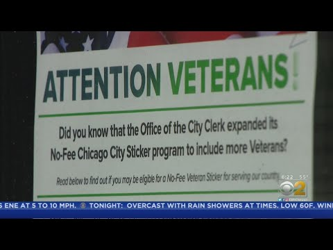 City Offers Free Vehicle Stickers For Veterans, But Rules Draw Complaints
