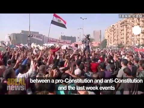 Mass Protests in Egypt Demand Morsi Cancel Referendum