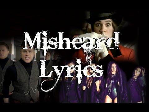 Misheard Song Lyrics