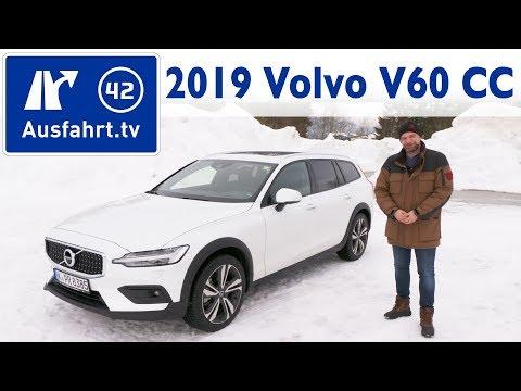 2019 Volvo V60 Cross Country - Kaufberatung, Test deutsch, Review, Fahrbericht, Ausfahrt.tv