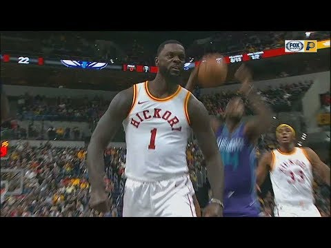 Lance Stephenson Celebrates Too Early After Blocking Dwight Howard and Forgets About The Play!