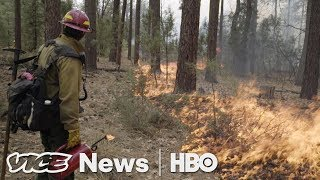 Fighting Wildfires With Fire & Male Midwives: VICE News Tonight Full Episode (HBO)