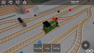 Thomas And Friends ROBLOX Peter Sam Crashes!