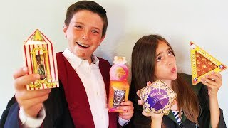 HARRY POTTER CANDY TASTE TEST + Bean Boozled Challenge