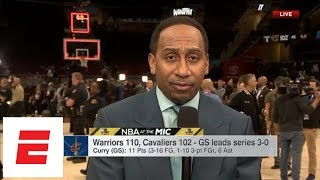 Stephen A. Smith: Game 4 will be LeBron James